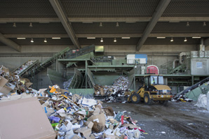 Entsorgung aller Arten von Müll